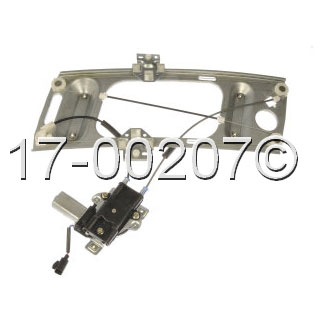 Pontiac Grand Prix                     Window Regulator with MotorWindow Regulator with Motor
