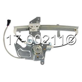 Pontiac Grand AM                       Window Regulator with MotorWindow Regulator with Motor