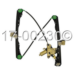 Ford Focus                          Window Regulator with MotorWindow Regulator with Motor