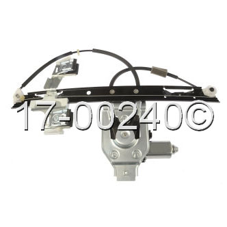 Isuzu  Window Regulator with Motor