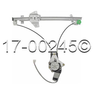 Mitsubishi galant window regulator with motor front left for 2000 mitsubishi galant window regulator