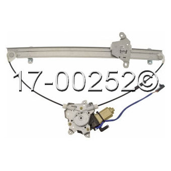 Nissan Quest                          Window Regulator with MotorWindow Regulator with Motor