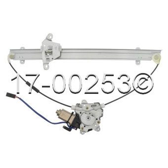 Mercury Villager                       Window Regulator with MotorWindow Regulator with Motor