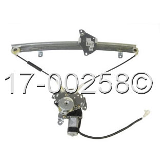 Dodge Colt                           Window Regulator with Motor