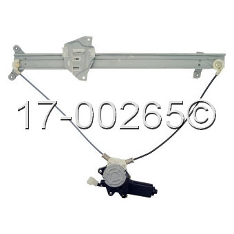 Mitsubishi Montero                        Window Regulator with MotorWindow Regulator with Motor