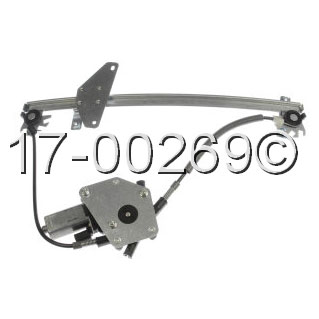 Volvo  Window Regulator with Motor