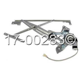 Mitsubishi Eclipse                        Window Regulator with MotorWindow Regulator with Motor