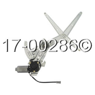 Volvo 740                            Window Regulator with Motor