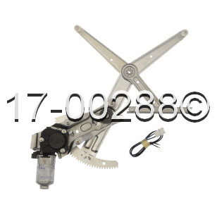 Volvo 940                            Window Regulator with Motor