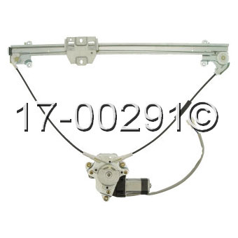 Suzuki Sidekick                       Window Regulator with Motor