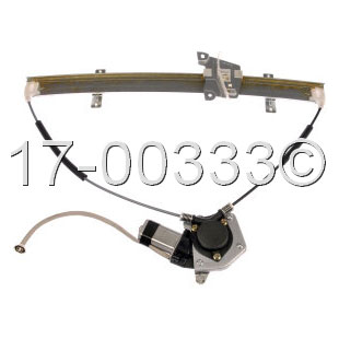 Chevrolet Tracker                        Window Regulator with MotorWindow Regulator with Motor