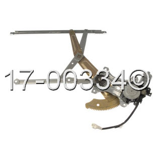 Toyota Tercel                         Window Regulator with Motor
