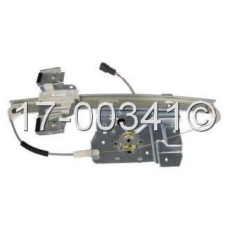 Buick Lucerne                        Window Regulator with MotorWindow Regulator with Motor