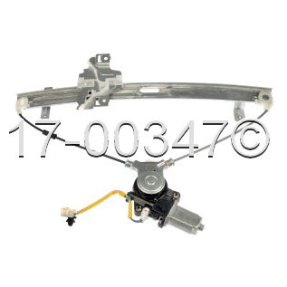 Isuzu Amigo                          Window Regulator with MotorWindow Regulator with Motor