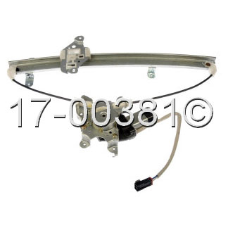 Nissan Xterra                         Window Regulator with MotorWindow Regulator with Motor