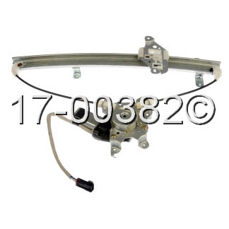 Nissan Frontier                       Window Regulator with MotorWindow Regulator with Motor