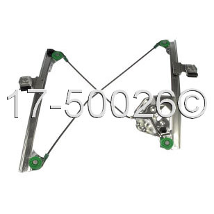Cadillac CTS                            Window Regulator OnlyWindow Regulator Only