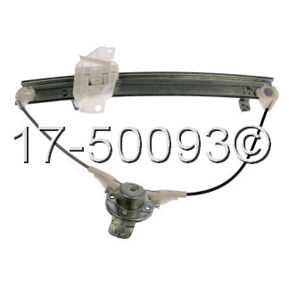 Hyundai Elantra                        Window Regulator OnlyWindow Regulator Only