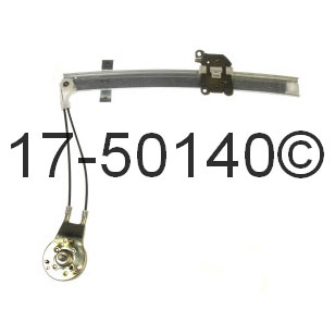 1988 Mercury Tracer Window Regulator Only