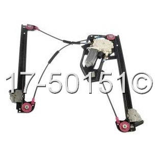 BMW 740                            Window Regulator OnlyWindow Regulator Only