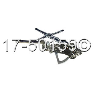 BMW 525                            Window Regulator OnlyWindow Regulator Only