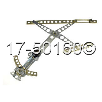 Mercedes_Benz 300CD                          Window Regulator Only