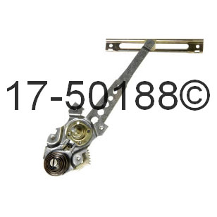 Mercedes_Benz 300D                           Window Regulator OnlyWindow Regulator Only