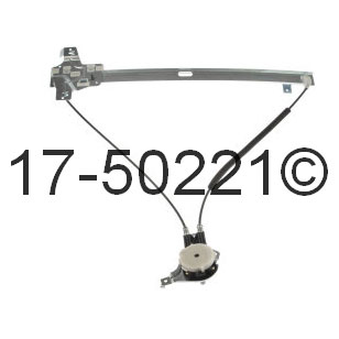Ford E Series Van                   Window Regulator OnlyWindow Regulator Only