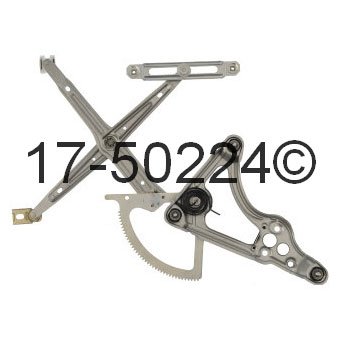 Mercedes_Benz 380SEL                         Window Regulator OnlyWindow Regulator Only