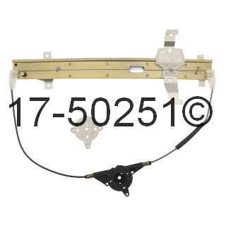 Lincoln Towncar                        Window Regulator onlyWindow Regulator Only
