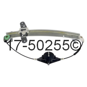 Mercury Marauder Window Regulator Only
