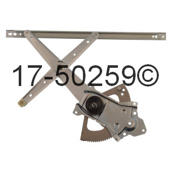 Mazda Navajo                         Window Regulator OnlyWindow Regulator Only