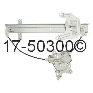 Infiniti I35                            Window Regulator OnlyWindow Regulator Only