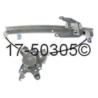 Infiniti I30                            Window Regulator OnlyWindow Regulator Only
