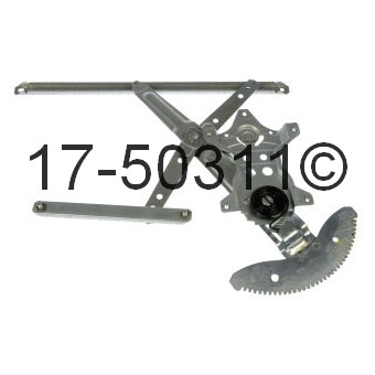 Toyota Corolla                        Window Regulator OnlyWindow Regulator Only