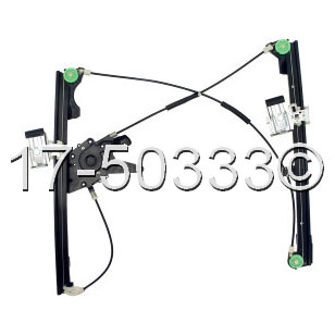 Volkswagen Golf                           Window Regulator OnlyWindow Regulator Only
