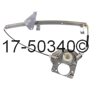 Isuzu Rodeo                          Window Regulator onlyWindow Regulator Only
