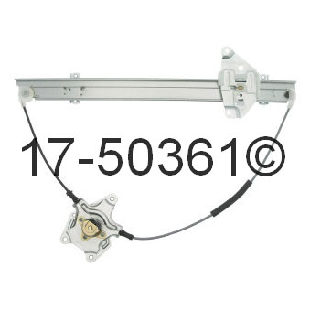 Nissan Pick-Up Truck                  Window Regulator OnlyWindow Regulator Only