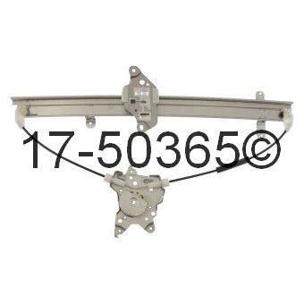 Infiniti QX4                            Window Regulator Only