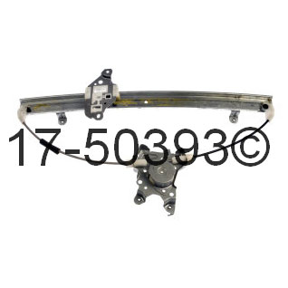 Nissan Xterra                         Window Regulator OnlyWindow Regulator Only