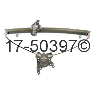 Mercury Villager                       Window Regulator OnlyWindow Regulator Only