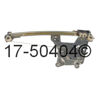 Audi A6                             Window Regulator OnlyWindow Regulator Only