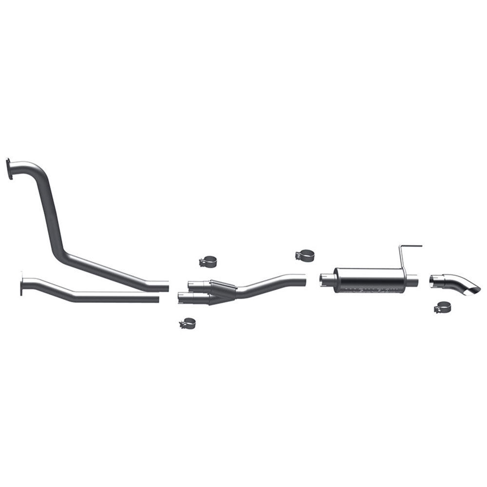 Nissan Titan                          Cat Back Performance ExhaustCat Back Performance Exhaust
