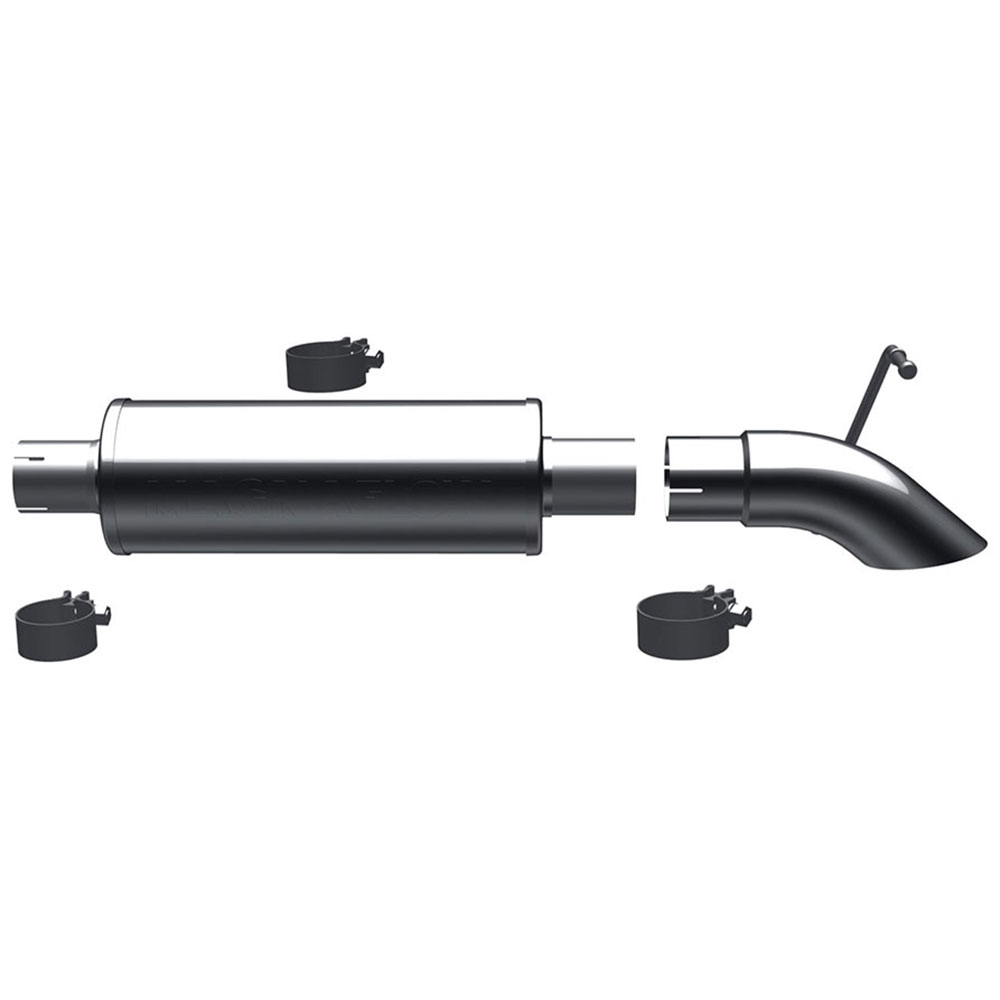 Jeep Wrangler                       Cat Back Performance ExhaustCat Back Performance Exhaust