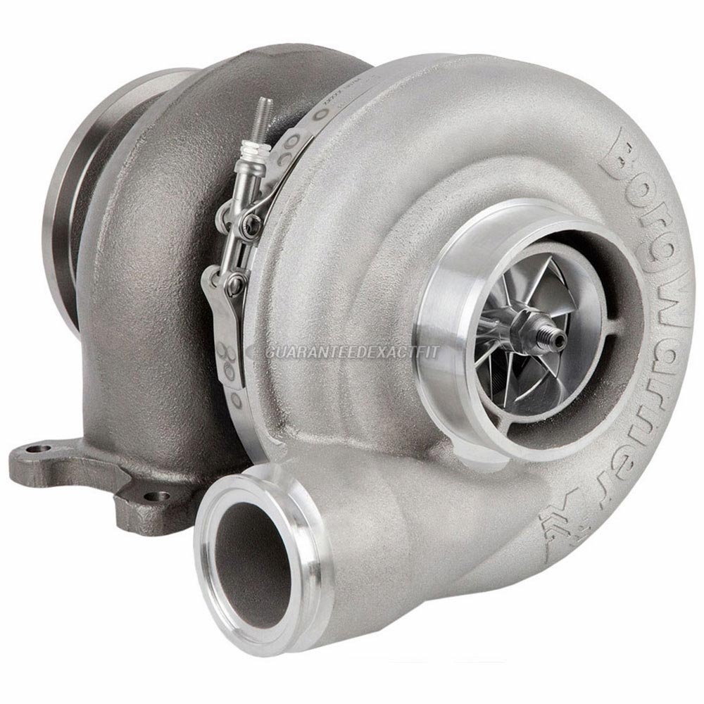 Cummins Engines M-Series Engine Cummins M11 Engine with Holset HX55 Turbocharger Part Number 3800471 or 3590044 Turbocharger