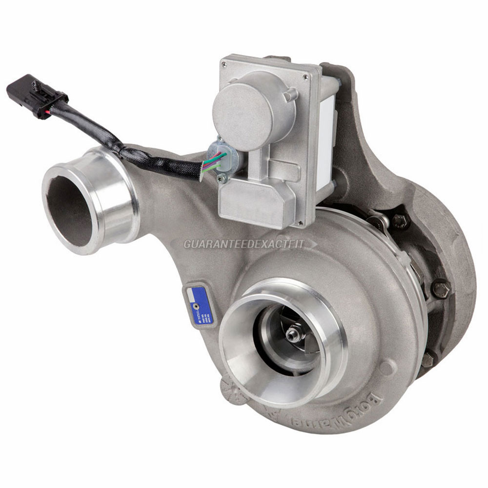 2012 International All Models Navistar DT466E Engine with International Turbocharger Number 1832204C91 Turbocharger