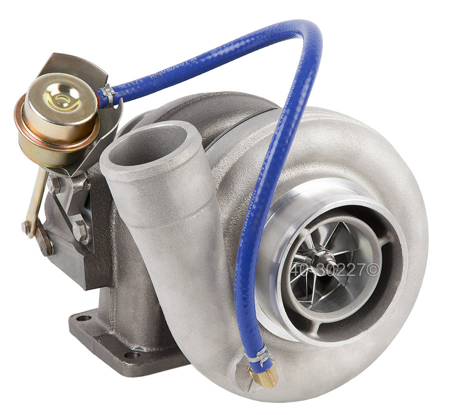 2012 International All Models Navistar DT466E Engine with Garrett Number 466743-5040 Turbocharger