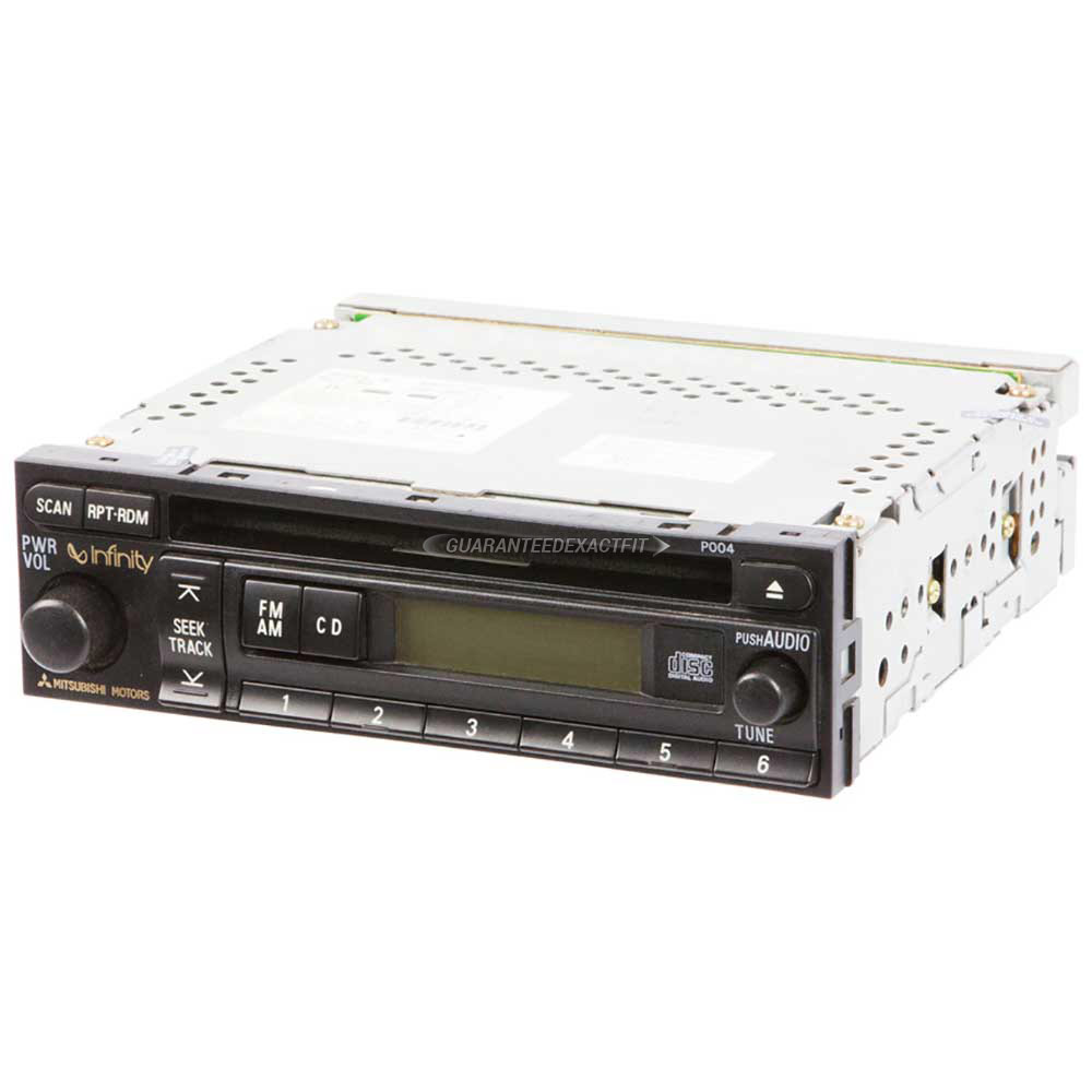 Mitsubishi Diamante                       Radio or CD PlayerRadio or CD Player