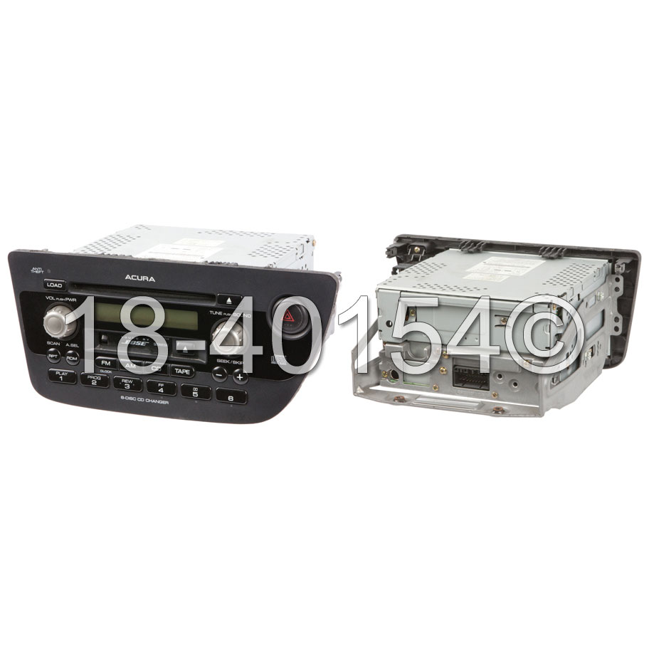 Acura RSX Radio Or CD Player AM-FM-Cassette-6CD Radio With