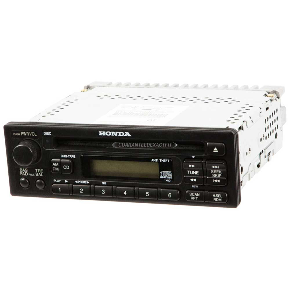 Honda Insight                        Radio or CD PlayerRadio or CD Player